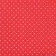 Białe gwiazdki na czerwonym tle