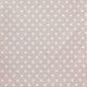 Białe gwiazdki na beżowo-różowym tle