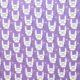 Króliki na fioletowym tle
